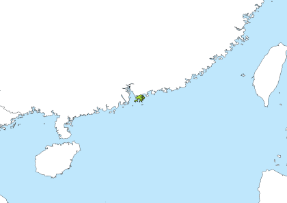 Sok Kwu Wan, Hong Kong Time Zone Geo Map